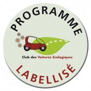 Logo Club des voitures écologiques