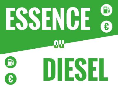 Comparaison entre un véhicule essence et un véhicule diesel