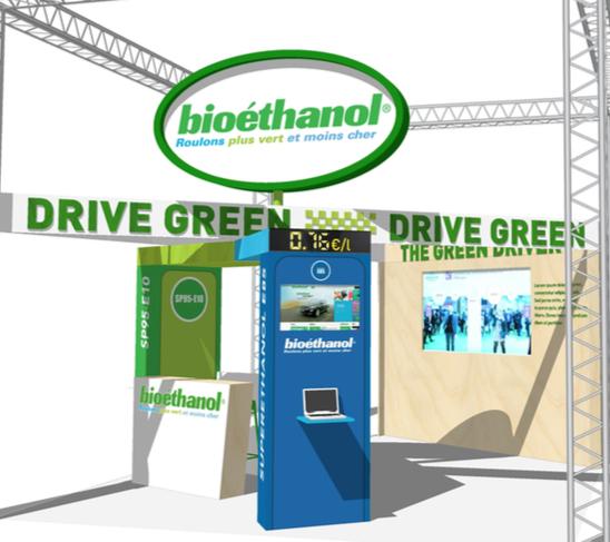 Visuel Stand SOLUTIONS COP21 bioéthanol