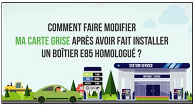 modification carte grise e85 Comment bénéficier de la carte grise gratuite pour les voitures